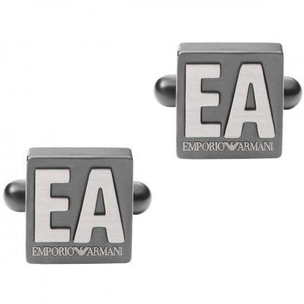 Spinki męskie Emporio Armani EGS2756060 Oryginalna Biżuteria EA