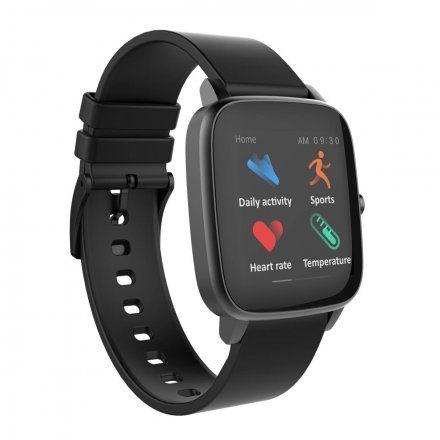 Smartwatch czarny z paskiem Strand S716USBBVB