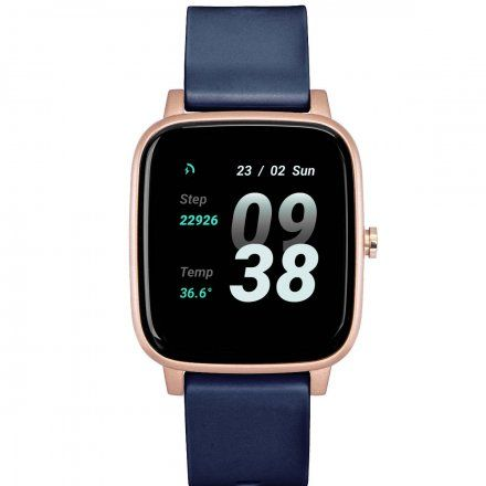 Smartwatch z niebieskim paskiem Strand S716USVBVL