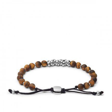 Biżuteria FOSSIL - Bransoletka Męska JF03676040