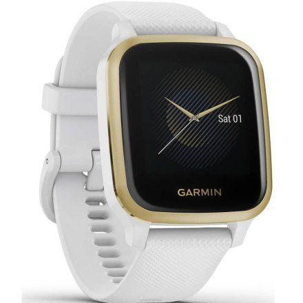 Garmin Venu Sq z czujnikiem tętna biały 010-02427-11