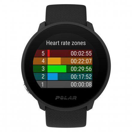 Polar UNITE Czarny zegarek sportowy z pomiarem tętna