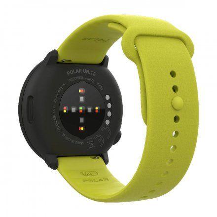Polar UNITE Limonkowy zegarek sportowy z pomiarem tętna