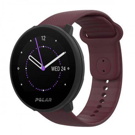 Polar UNITE Śliwkowy zegarek sportowy z pomiarem tętna