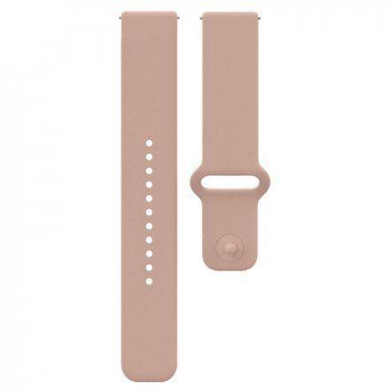 Polar Pasek 20mm silikonowy pudrowo-różowy