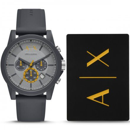 AX7123 Armani Exchange OUTERBANKS zegarek AX z paskiem