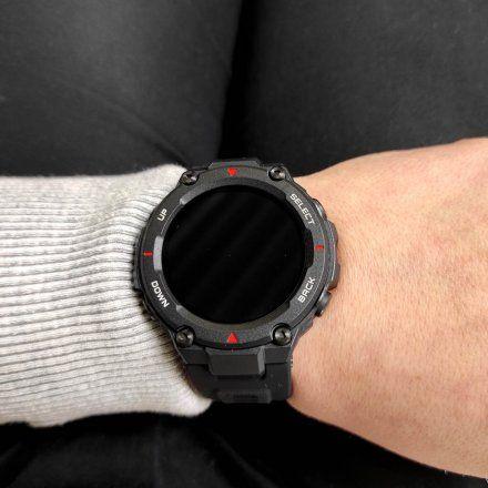 Amazfit wojskowy smartwatch T-Rex czarny smartwatch Huami W1919OV5N