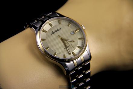 Zegarek Męski Adriatica na bransolecie A1258.2111Q - Zegarek Kwarcowy Swiss Made