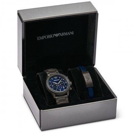 Zegarek Emporio Armani AR80045 MARIO + bransoletka