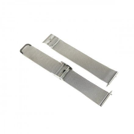Bransoleta srebrna do smartwatcha Rubicon RNBE37 18 mm
