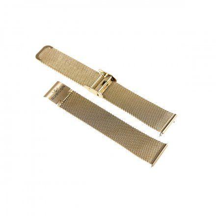 Bransoleta różowozłota do smartwatcha Rubicon RNBE37 18 mm