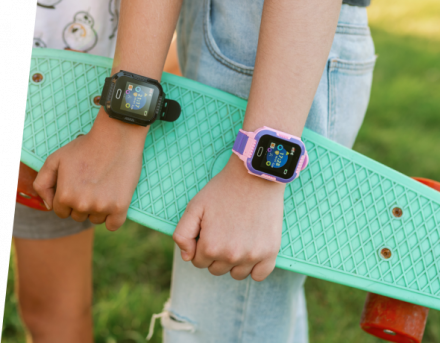 Smartwatch Lokalizator Garett Kids Fly Czarny