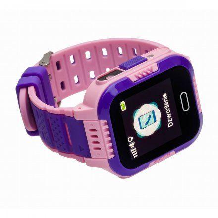 Smartwatch Lokalizator Garett Kids Fly Różowy