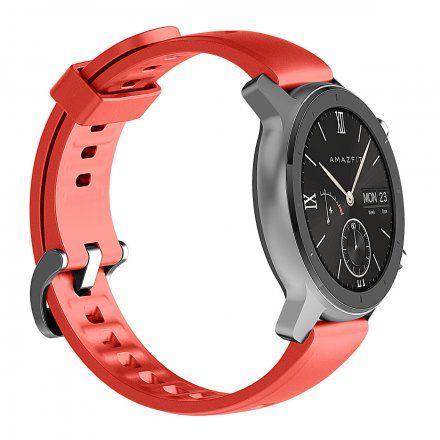 Amazfit GTR czerwony smartwatch Huami W1910TY5N