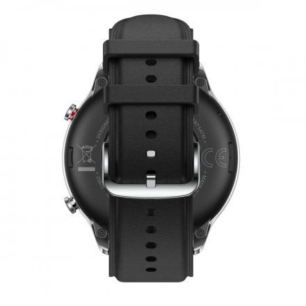 Amazfit GTR 2 srebrny ze skórzanym paskiem smartwatch Huami