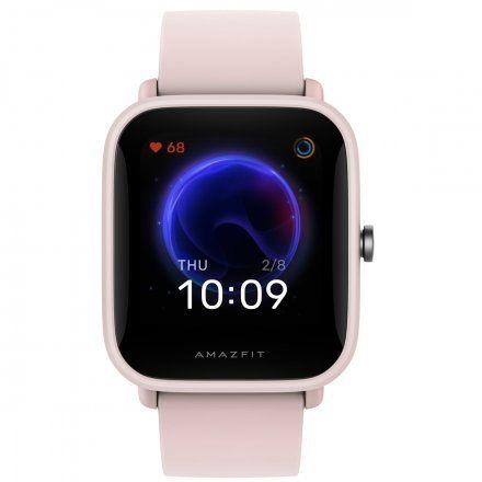 Amazfit BipU Pro różowy smartwatch Huami