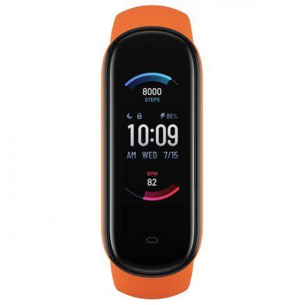 Amazfit Band 5 pomarańczowy smartband Huami