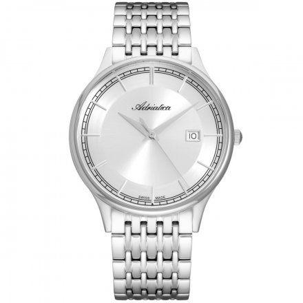 Zegarek Męski Adriatica na bransolecie A8315.5113Q Swiss Made