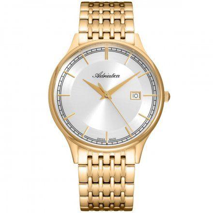 Zegarek Męski Adriatica na bransolecie A8315.1113Q Swiss Made