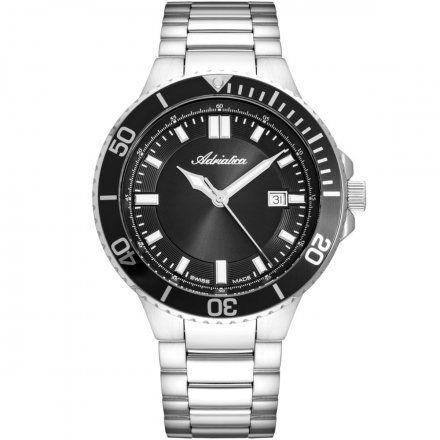 Zegarek Męski Adriatica na bransolecie A8317.5114Q - Swiss Made