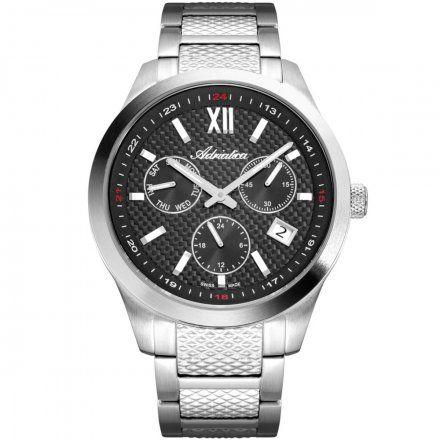 Zegarek Męski Adriatica na bransolecie A8324.5167QF Swiss Made