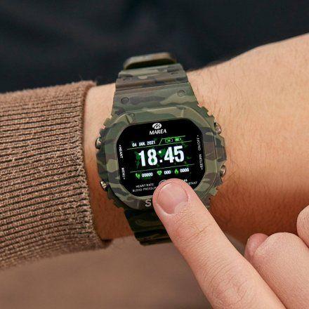 Smartwatch Marea czarny sportowy B57008-1