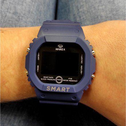Smartwatch Marea granatowy sportowy B57008-2