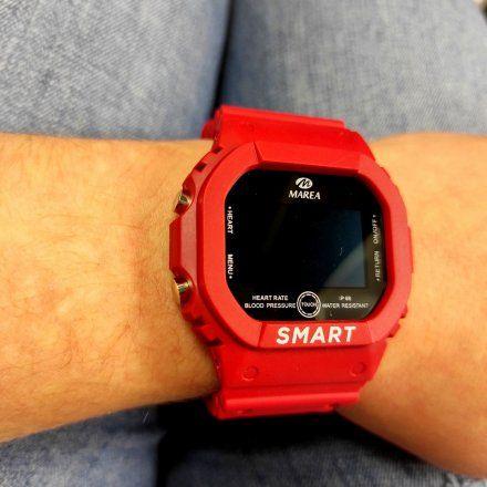 Smartwatch Marea bordowy sportowy B57008-3