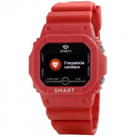 Smartwatch Marea czerwony sportowy damski dziecięcy B60002-3