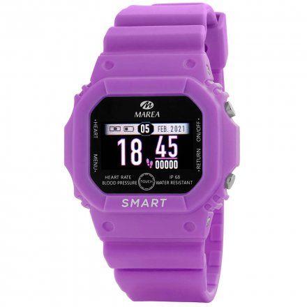 Smartwatch Marea fioletowy sportowy damski dziecięcy B60002-4