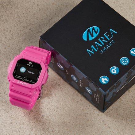Smartwatch Marea turkusowy sportowy damski dziecięcy B60002-7