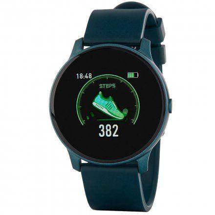 Granatowy smartwatch Marea B59006-2