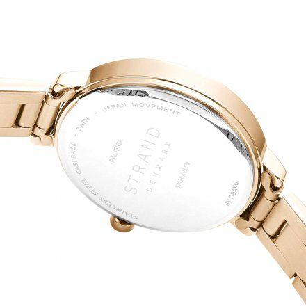 S712LXVLSV Złoty zegarek Damski Strand