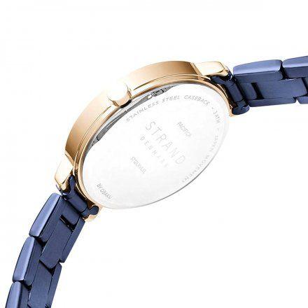 S712LXVLSL Granatowy zegarek Damski Strand by OBAKU