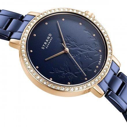 S712LXVLSL Granatowy zegarek Damski Strand