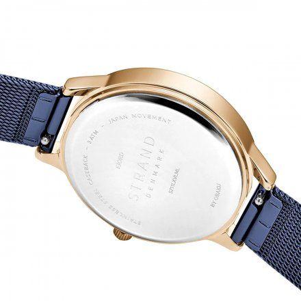 S711LXVLML Granatowy zegarek Damski Strand