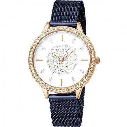 S711LXVIML Granatowy zegarek Damski Strand