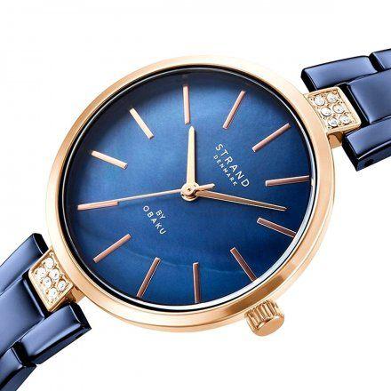 S706LXVLSL Granatowy zegarek Damski Strand