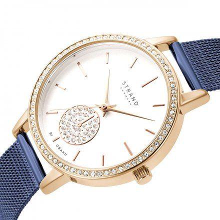 S705LXVIML Granatowy zegarek Damski Strand
