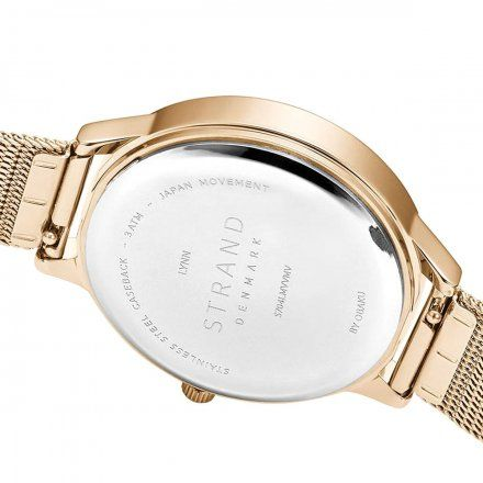 S704LMVVMV Złoty zegarek Damski Strand