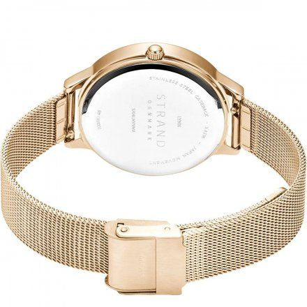 S704LMVVMV Złoty zegarek Damski Strand by OBAKU