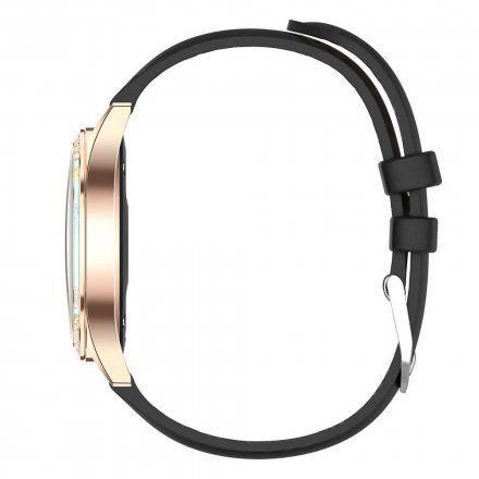 Złoty smartwatch damski Gino Rossi + czarny pasek GRSWBF2-4D1-2