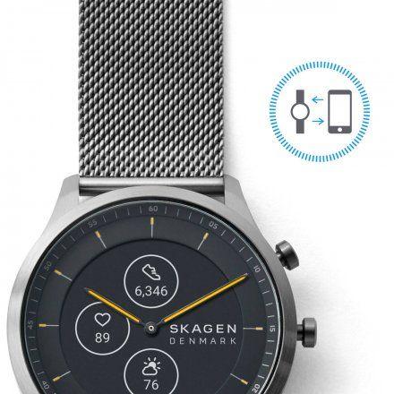 Zegarek Skagen Hybrid HR SKT3002 Skagen Jorn Smartwatch hybrydowy