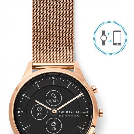 Zegarek Skagen Hybrid HR SKT3100 Skagen Jorn Smartwatch hybrydowy
