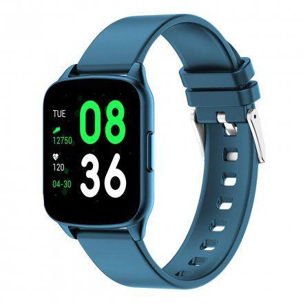 Granatowy smartwatch G.Rossi SW009-3