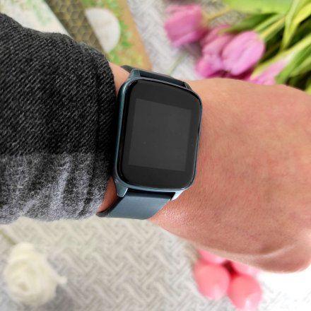 Granatowy smartwatch Gino Rossi SW009-3