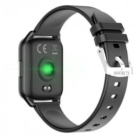 Czarny smartwatch Gino Rossi SW009-4