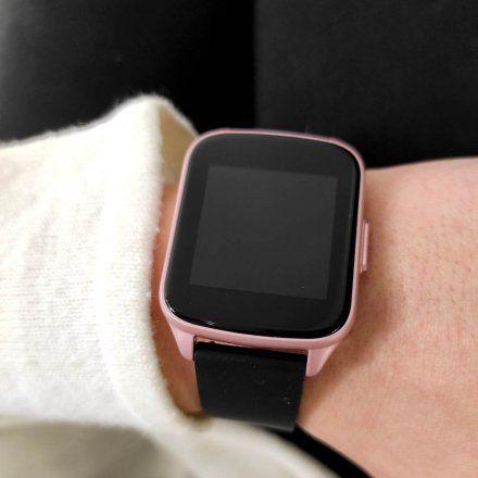 Różowozłoty smartwatch G.Rossi SW009-6