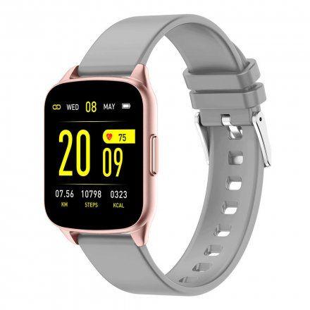 Różowozłoty smartwatch Gino Rossi SW009-7