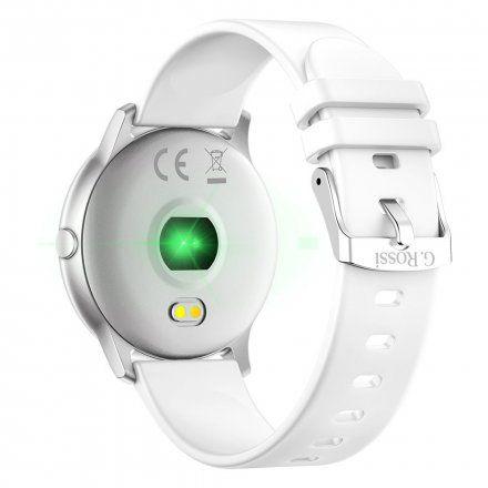 Srebrny smartwatch Gino Rossi SW010-1